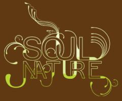 Soul Nature tipography by fioO