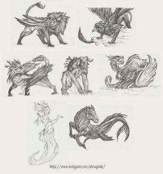 characters 2 by autier