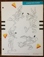 Wile E Coyote Poses by guibor