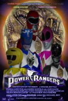 Power Rangers movie poster 2 by bienku