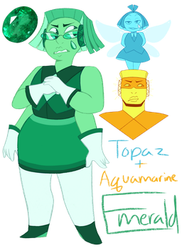 FT - (Aquamarine/Topaz) Emerald by TheZodiacLord