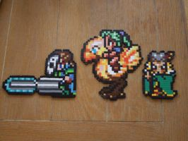 Final Fantasy VI Bead Sprite by SerenaAzureth