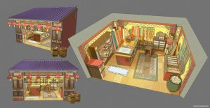 Clothing Shop - Concept Sheet by the10s
