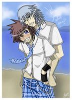 Sora and Riku luff by Godess-Nikita-Chan