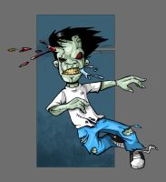 zombie shot by robiant