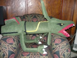 RAYQUAZA plush WIP by SilkenCat