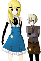 Timeskip Alice and Baldric by Vanilla-myu