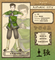 Republic City: Kai Di- Long (Revamp!) by Mikkoy