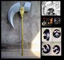 Killburn Scythe and Mask by alsquall