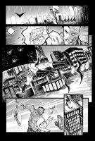 Batman sample page 1 by JoeyVazquez