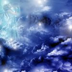 BLUE ANGEL IN HEAVEN by mysticdesigner