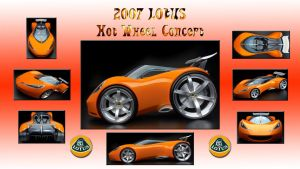 2007 Lotus Hot Wheel Concept by PeterRama