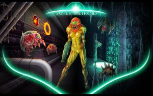 Super Metroid by AIBryce