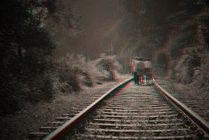 A Walk on the Tracks 3-D conversion by MVRamsey