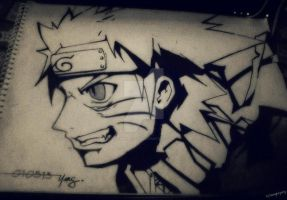 Naruto by almightyeng