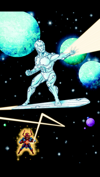 Silver Surfer by ChawliePawpit
