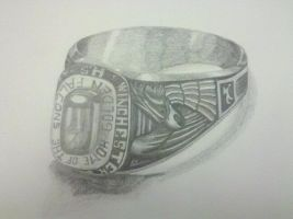 High School Class Ring by generalbrievous