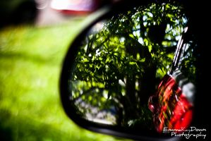Wing mirror perfection. Day 153 - 02/06/13 by oEmmanuele