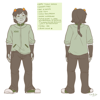 Tizali Aarush Character Sheet by ChibiSo
