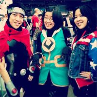 Young Avengers Cosplay: Wiccan, Miss America, Loki by euthanasian