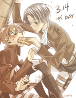 SnK: Pi Day by YummySuika