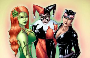 Gotham Girls by ChrisSummersArts
