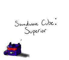 Soundwave Cube by Shirobutterfly