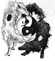 Yin and Yang by Charolett