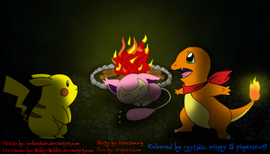 1k pageviews - pokemon style by Ryytikki