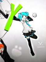 Miku Cosplay - A Leek by aipuri