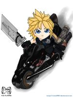 Chibi Cloud Strife by squall95