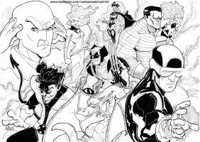 The X Men by scarecrowhassan