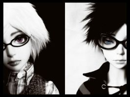 black and white by megomobile