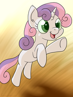 Just Sweetie Belle by tehflah