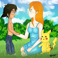 You Look Like Your Father - Pokeshipping by tiffanyblogs