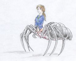 Spider girl - Color 01 by bluessaurus