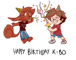 Happy Birthday K-Bo! by encune