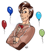 11th Doctor GIFT! by InvaderSonicMx