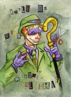The Riddler by JoJo-Seames