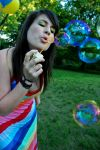 b for bubble by lamandy