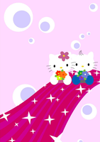 Hello Kitty by 2Trish