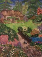 spring painting by smunk1