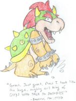 Bowser from PM:TTYD by MysticalChicken