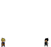 Goku vs. Vegeta by ftheriachab