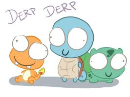 Derpmon by LeniProduction
