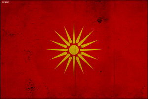 Flag of Macedonia by AY-Deezy