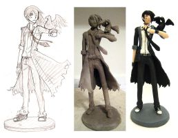 Faust Figurine PHASES by ember-snow