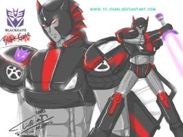 Decepticons soldier: BlackGate by Tc-Chan