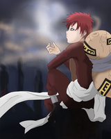 Gaara of the Sand by Graya7