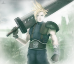 Cloud Strife Final Fantasy VII by Il-Piccolo-Torero